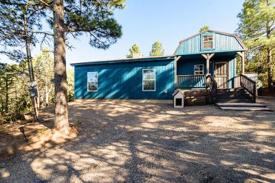 Tijeras, Cedar Crest, Sandia Park, Edgewood, Moriarty, Stanley Single Family Home For Sale: 26 Mockingbird Drive