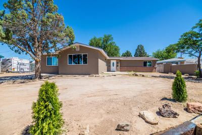 Albuquerque Single Family Home For Sale: 5307 Cloudcroft Road NW