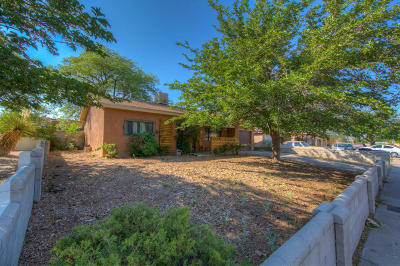 Albuquerque Single Family Home For Sale: 1420 Glorieta Street NE
