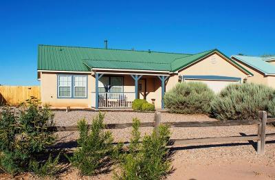 Rio Rancho Single Family Home For Sale: 6608 Honduras Road NE