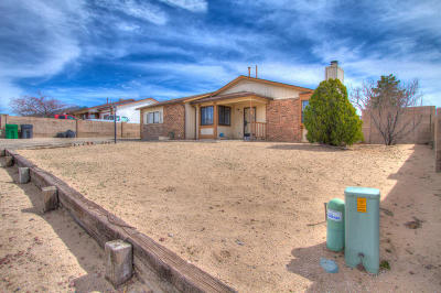 Rio Rancho Single Family Home For Sale: 578 Apache Loop SW