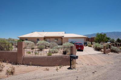 Rio Rancho Single Family Home For Sale: 5701 Rio Mimbres Road NE