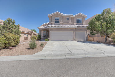 Albuquerque Single Family Home For Sale: 8908 Abis Court NE