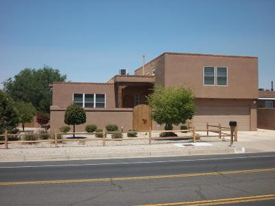 Albuquerque Single Family Home For Sale: 6301 Truchas Drive NE
