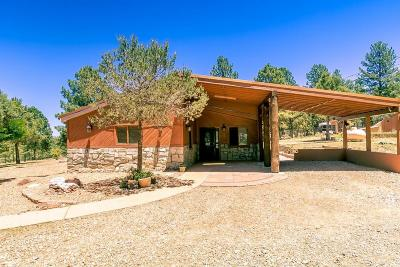 Tijeras NM Single Family Home For Sale: $275,000