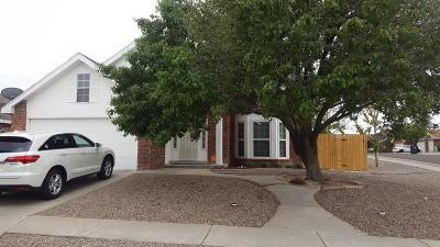 Albuquerque Single Family Home For Sale: 4928 Cutting Avenue NW