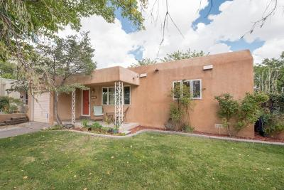 Albuquerque Single Family Home For Sale: 210 Amherst Drive NE