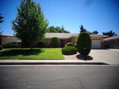 Albuquerque Single Family Home For Sale: 3712 Glorieta Street NE