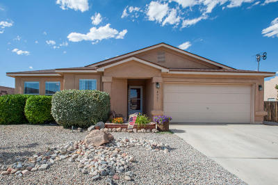 Rio Rancho Single Family Home For Sale: 4901 Canyon Gate Place NE