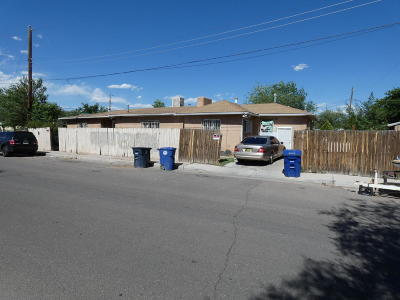 Albuquerque NM Single Family Home For Sale: $125,000