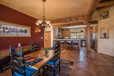 Placitas Single Family Home For Sale: 300 Camino De Las Huertas