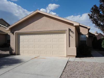 Albuquerque Rental For Rent: 8419 Casa Morena Court NW