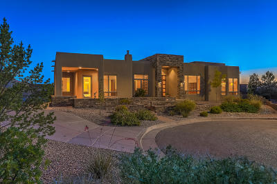 Single Family Home For Sale: 13400 Piedra Grande Place NE