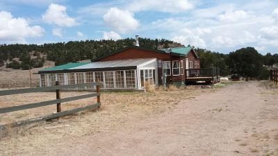 Catron County Single Family Home For Sale: 7 Crosby Canyon Lane