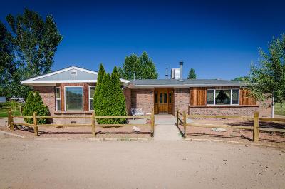 Valencia County Single Family Home For Sale: 81 Sedillo Road