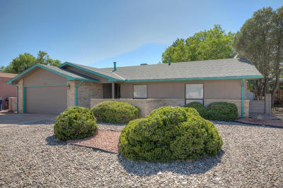 Albuquerque Single Family Home For Sale: 7129 Ticonderoga Road NE