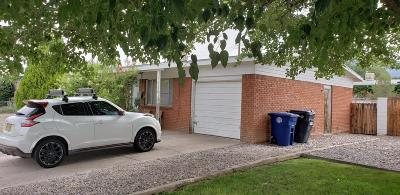 Albuquerque Single Family Home For Sale: 828 Claudine Street NE