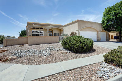 Bernalillo County Single Family Home For Sale: 8401 Pope Valley Drive NE