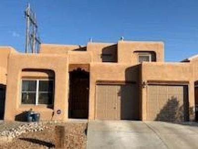 Albuquerque Single Family Home For Sale: 4319 Cliff Base Drive NW