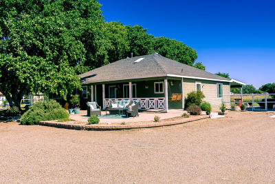 Valencia County Single Family Home For Sale
