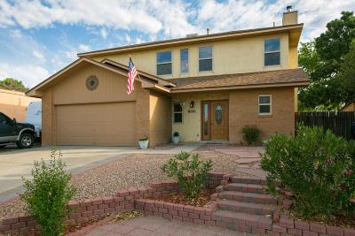 Albuquerque Single Family Home For Sale: 5805 Broken Arrow Lane NW