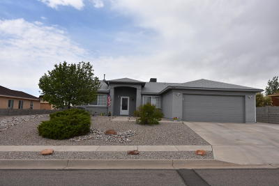 Albuquerque, Rio Rancho Single Family Home For Sale: 7032 Clark Hills Drive NE