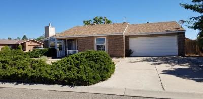Rio Rancho Single Family Home For Sale: 6163 Roadrunner Loop NE