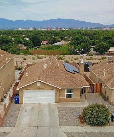Albuquerque Single Family Home For Sale: 624 Red Bluff Avenue SW