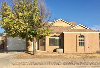 Rio Rancho NM Single Family Home For Sale: $124,900