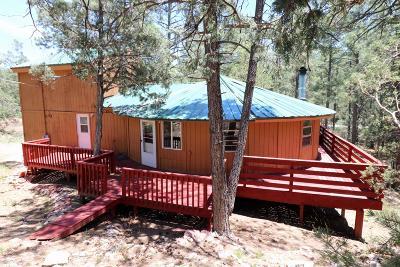 Tijeras Single Family Home For Sale: 60 Carolino Canyon Road