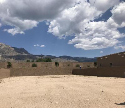 Albuquerque Residential Lots & Land For Sale: 9512 Ridge Vista Drive NE