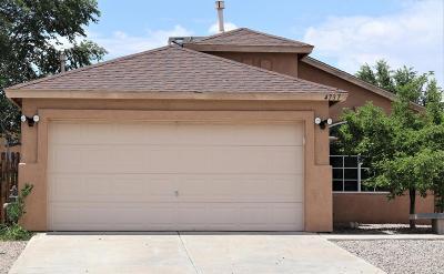 Rio Rancho NM Single Family Home For Sale: $163,000