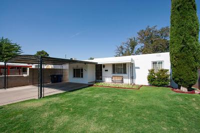 Albuquerque NM Single Family Home For Sale: $160,000