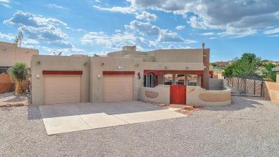 Rio Rancho Single Family Home For Sale: 729 Sonora Road NE