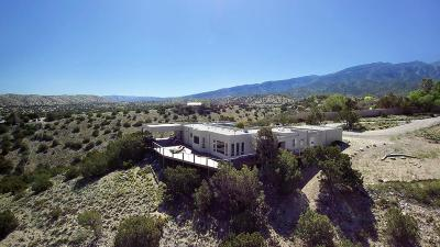 Placitas Single Family Home For Sale: 63 Sandia Lane
