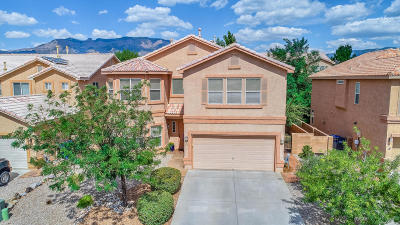 Single Family Home For Sale: 8704 Placer Creek Court NE