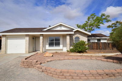 Albuquerque Single Family Home For Sale: 10445 Heron Road SW