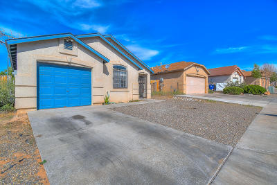 Albuquerque Single Family Home For Sale: 1543 Rolling Rock Place SW
