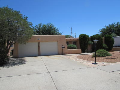 Albuquerque Single Family Home For Sale: 3108 Blume Street NE