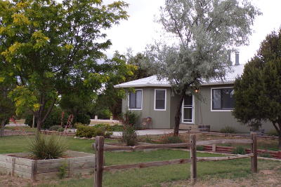 Torrance County Single Family Home For Sale: 2 Grubstake Court