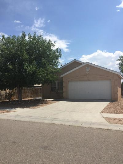 Albuquerque Single Family Home For Sale: 414 Viking Drive SW