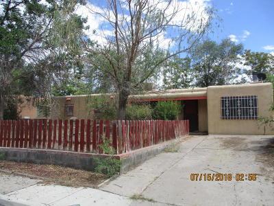 Albuquerque NM Single Family Home For Sale: $119,900