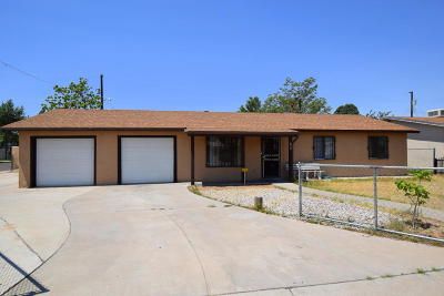 Albuquerque Single Family Home For Sale: 601 58th Street NW