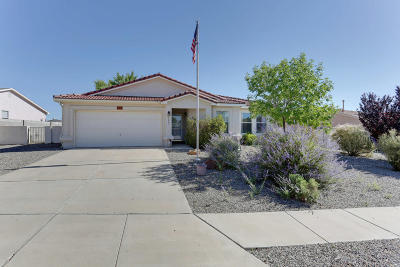 Rio Rancho NM Single Family Home For Sale: $204,000
