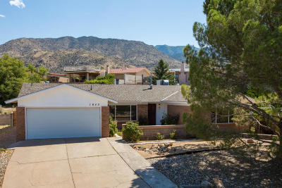 Albuquerque Single Family Home For Sale: 1640 Hogle Road NE