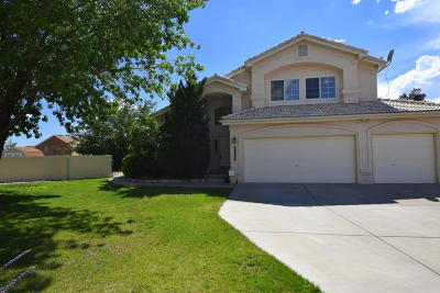 Albuquerque Single Family Home For Sale: 11843 Isle Royale Place SE