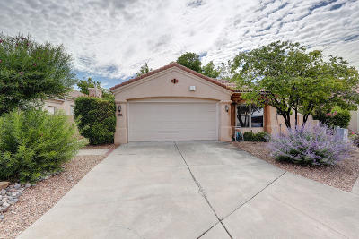 Albuquerque Single Family Home For Sale: 4824 Skyline Ridge Court NE