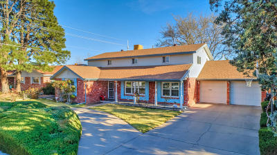 Albuquerque NM Single Family Home For Sale: $299,000