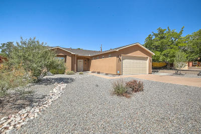 Albuquerque Single Family Home For Sale: 6923 Rustler Road NW
