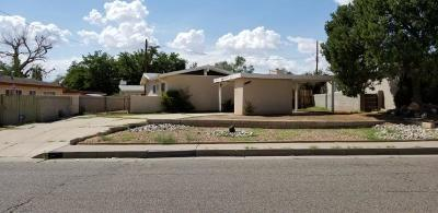 Single Family Home For Sale: 10505 Los Arboles Avenue NE